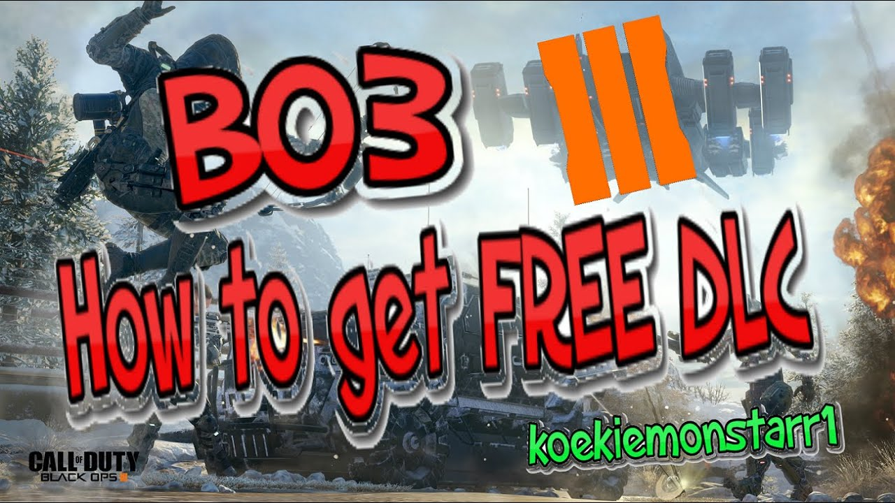 [Tutorial] How to get FREE BO3 DLC Maps + Download