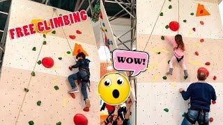 Download lagu Prova di Free Climbing (arrampicata) per Daniel e Alyssa