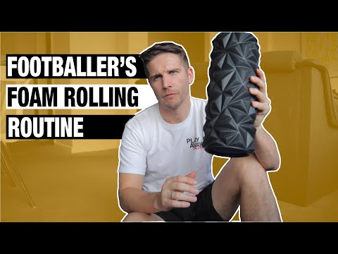 Foam Roller Exercises for Footballers | 9 Critical Exercises