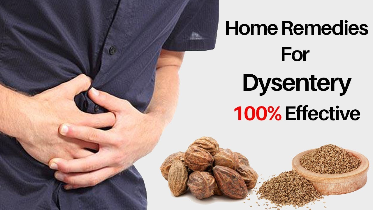 Dysentery home remedies treatment