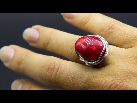 Tutorial how to make a simple wire wrapped ring