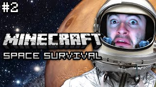 Minecraft: RUNNING ON EMPTY - Planetary Confinement Survival Ep. 2