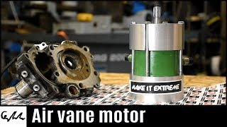 Making air vane motor