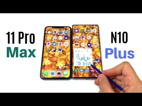 IPhone 11 Pro Max Vs Galaxy Note 10 Plus Full Comparison!
