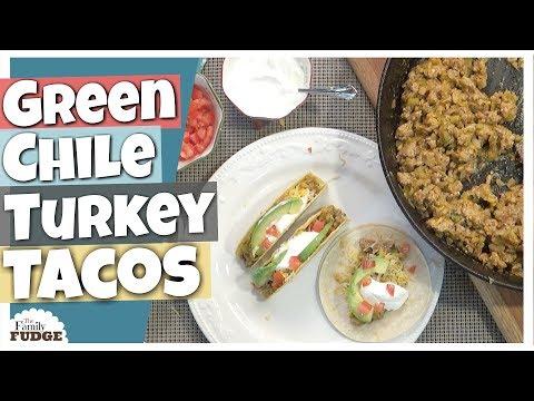 GREEN CHILE TURKEY TACOS || EASY 1 POT DINNER || What's for Dinner Wednesday