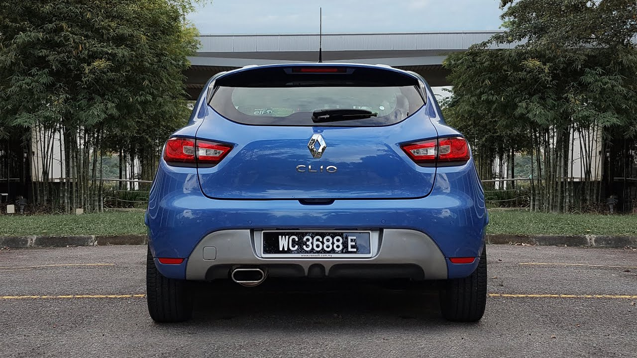 2015 renault clio 1 2 turbo dual clutch gt line first look youtube. Black Bedroom Furniture Sets. Home Design Ideas
