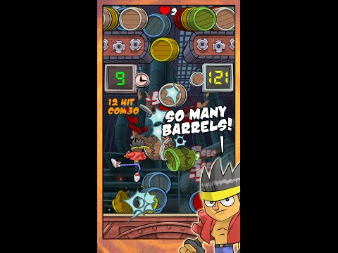 Barrel Buster iPhone Game