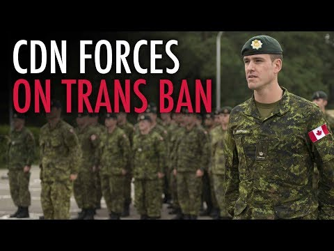 Transgender ban has Canadian Forces trolling Trump