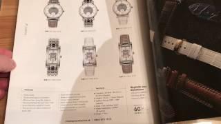 Мои часы Zenith теперь на итальянском ремешке ColaReb и обзор женских часов Christopher Ward