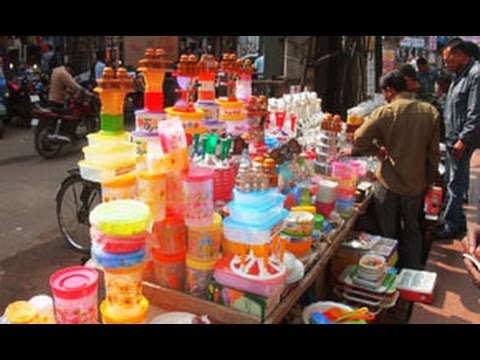 Crockery Market in Guwahati, Assam