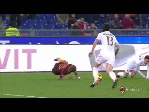 Highlights AS Roma-AC Milan 12th December 2016 Serie A