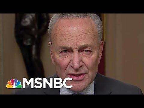 Chuck Schumer Praises Adam Schiff For Holding GOP Rapt, Convincing Public | Rachel Maddow | MSNBC