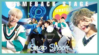 [Comeback Stage] SEVENTEEN - Snap Shoot,  세븐틴 - Snap Shoot  Show Music core 20190921