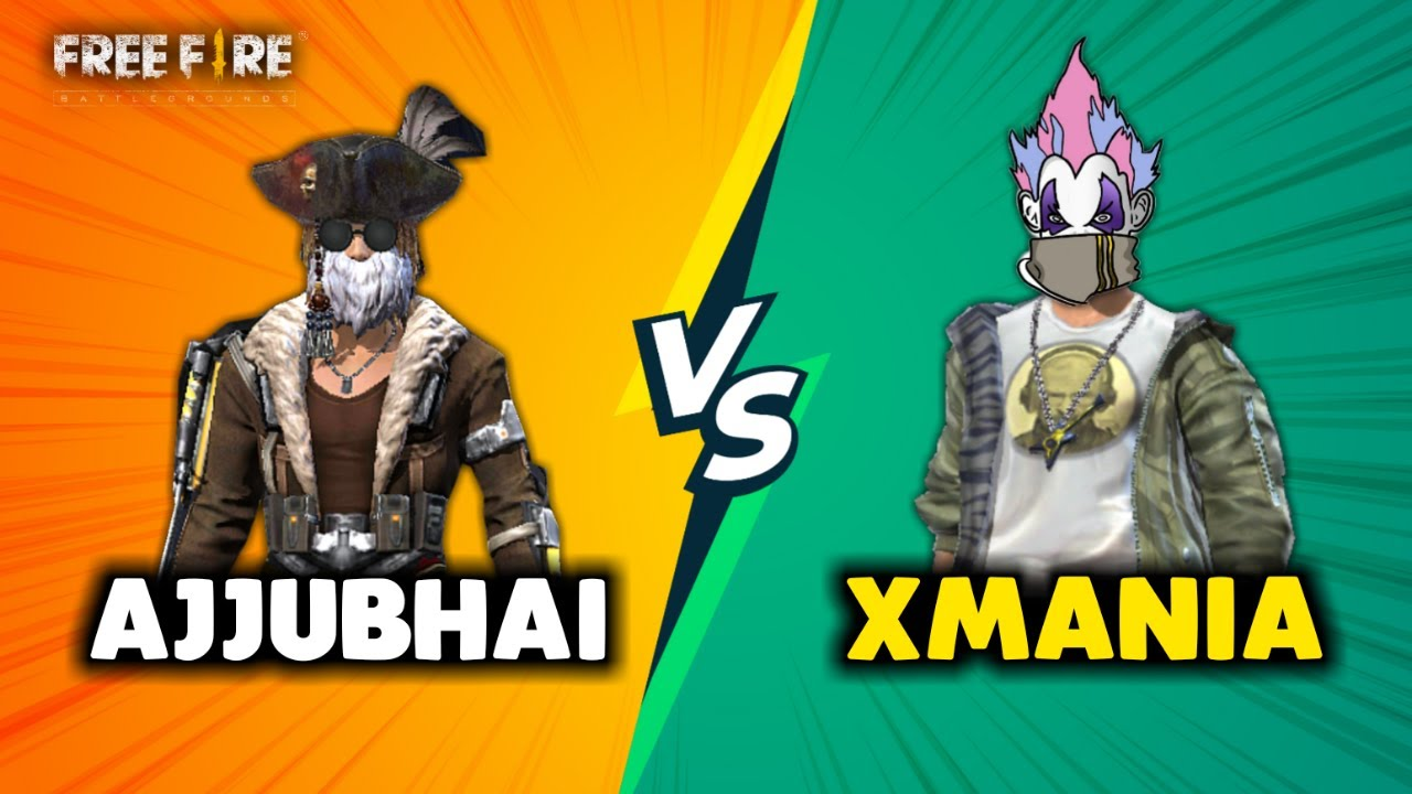 Ajjubhai94 vs XMania Best Clash Battle Who will Win - Garena Free Fire