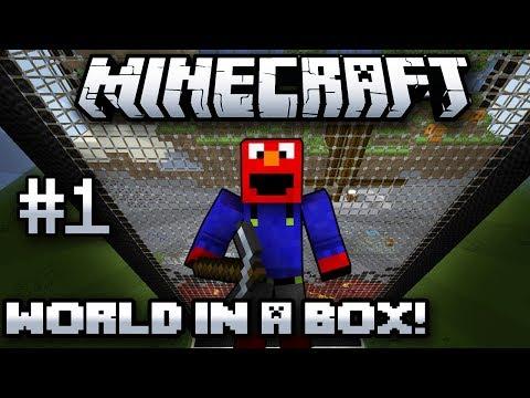 Minecraft World In a Box-Episode 1- Minecraft In A Box!