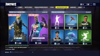 Fortnite Daily Shop 13 May Chrome and Color Bomber Skins