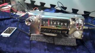 1965 66 Ford Mustang original AM radio