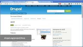 CKEditor + IMCE | Drupal 7