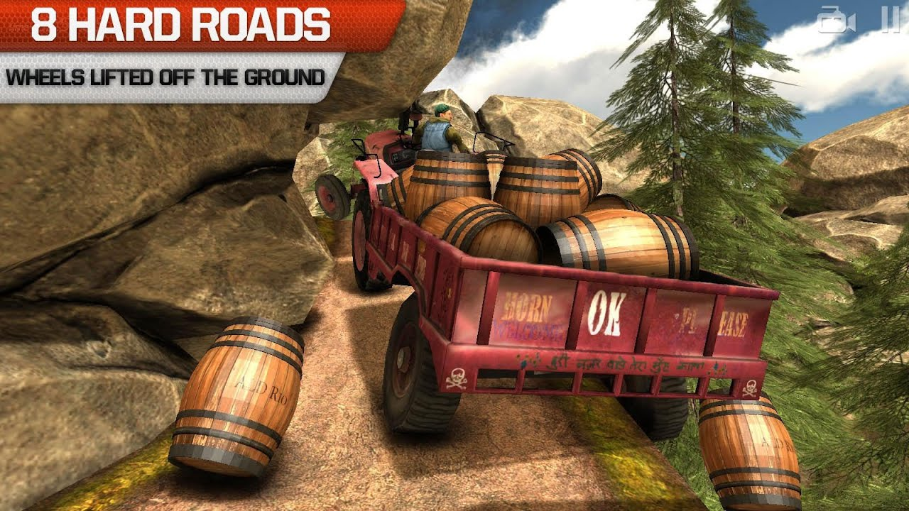 Truck Driver 3D offroad racing game for iPhone