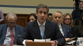Live: Trump ex-lawyer Michael Cohen delivers highly anticipated testimony before Congress | ITV News