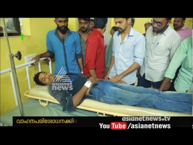 Police attacked bike rider while vehicle checking at Kayamkulam | FIR 26 Mar 2017