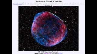 2014年 7月12日 「超新星残骸:SN 1006」-Astronomy Picture of the Day