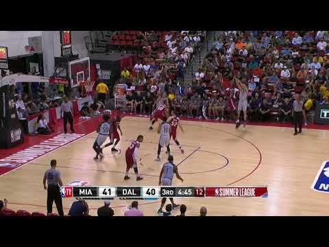 July 11, 2017 - NBA.COM - Miami Heat Summer League Game 03 Vs Dallas Mavericks - Loss (02-01)