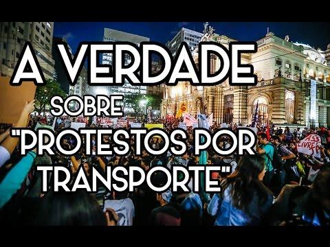 """A VERDADE sobre os """"Protestos por Transporte"""""""