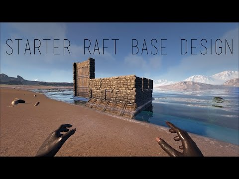Starter PVP Raft Base Design ARK: Survival Evolved : ARK