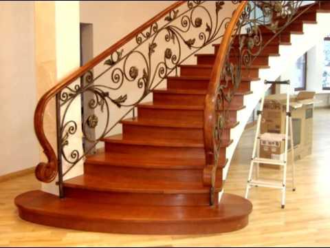 Лестницы из дерева на заказ, производство и установка для