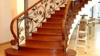видео Мраморные лестницы с кованными перилами, фото
