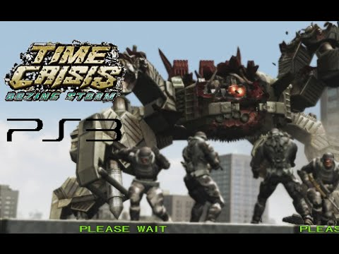 Time Crisis Razing Storm playthrough (PS3)
