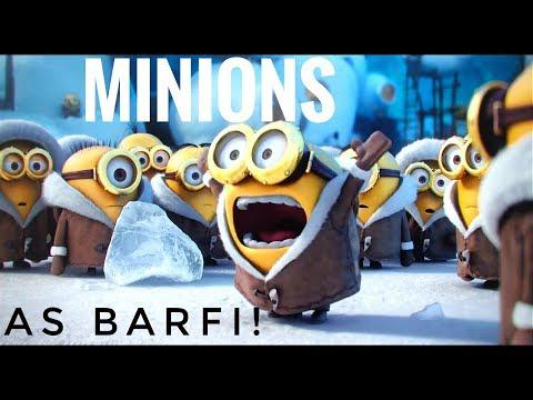 Minions As Barfi! || Funny Song Alla Barfi Song By Mohit Chauhan Movie Barfi! By Sahil Sidapara