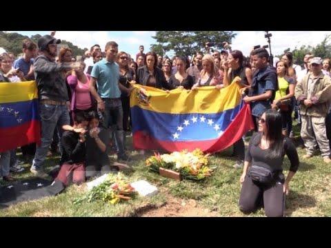 Focos de protesta en Caracas por muerte del rebelde Óscar Pérez