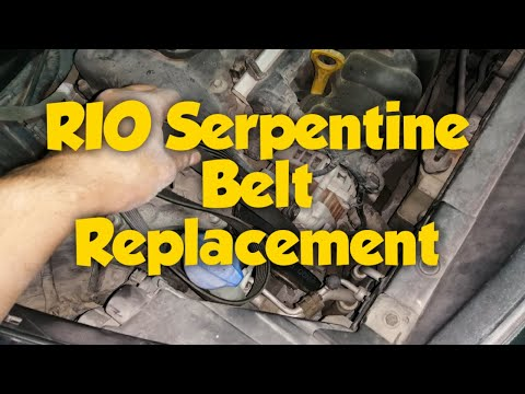 Paano mag palit ng Serpertine Belt sa Kia Rio | How to Replace Serpentine Belt on Kia 2012 – 2019