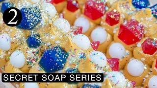 Gems & Pearls Cold Process Soap Making | Secret Soap 2 | #SecretSoapSeries2019 | Royalty Soaps