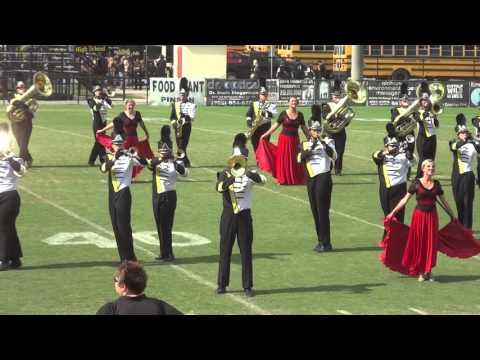 Corner High School Marching Band~Pinson Valley 2015