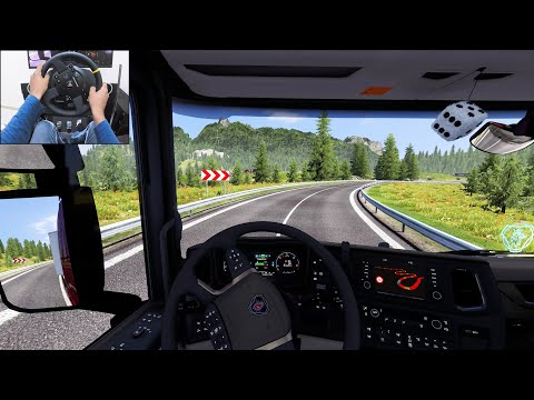 Exploring Austria - Euro Truck Simulator 2 | Thrustmaster TX gameplay