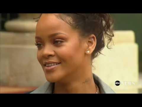Rihanna: At The Elysee Palace #brigittemacron #emmanuelmacron #france #ellyseépalace #education