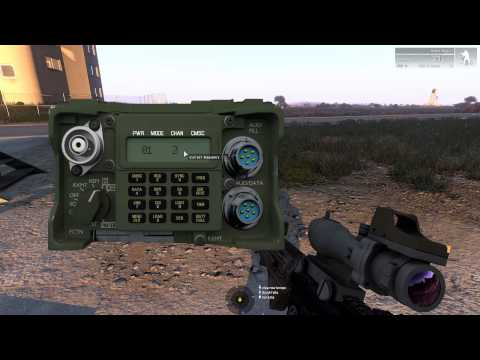 MGM ARMA3 Mission secure Helicopter ruins and rescue pilot part 1