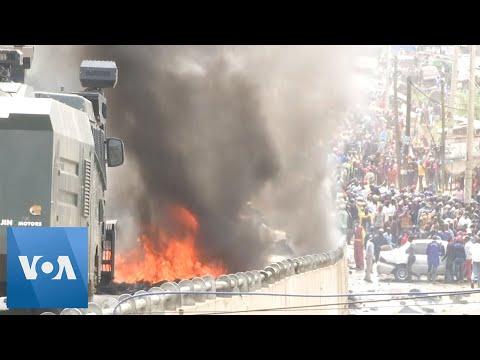 Demolition of Homes Sparks Riots in Kenya's Capital