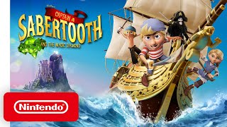 Captain Sabertooth and the Magic Diamond - Launch Trailer - Nintendo Switch