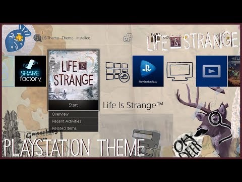 Life is Strange PlayStation and SHAREfactory Themes