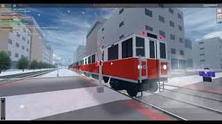 ROBLOX MBTA Red Line Treno della metropolitana a Rails Unlimited