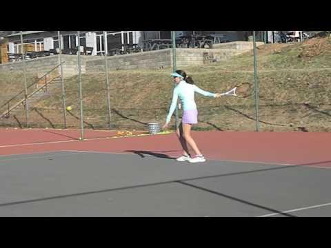 Mia Leshem 31 May 2017 Tennis practice ( 1)