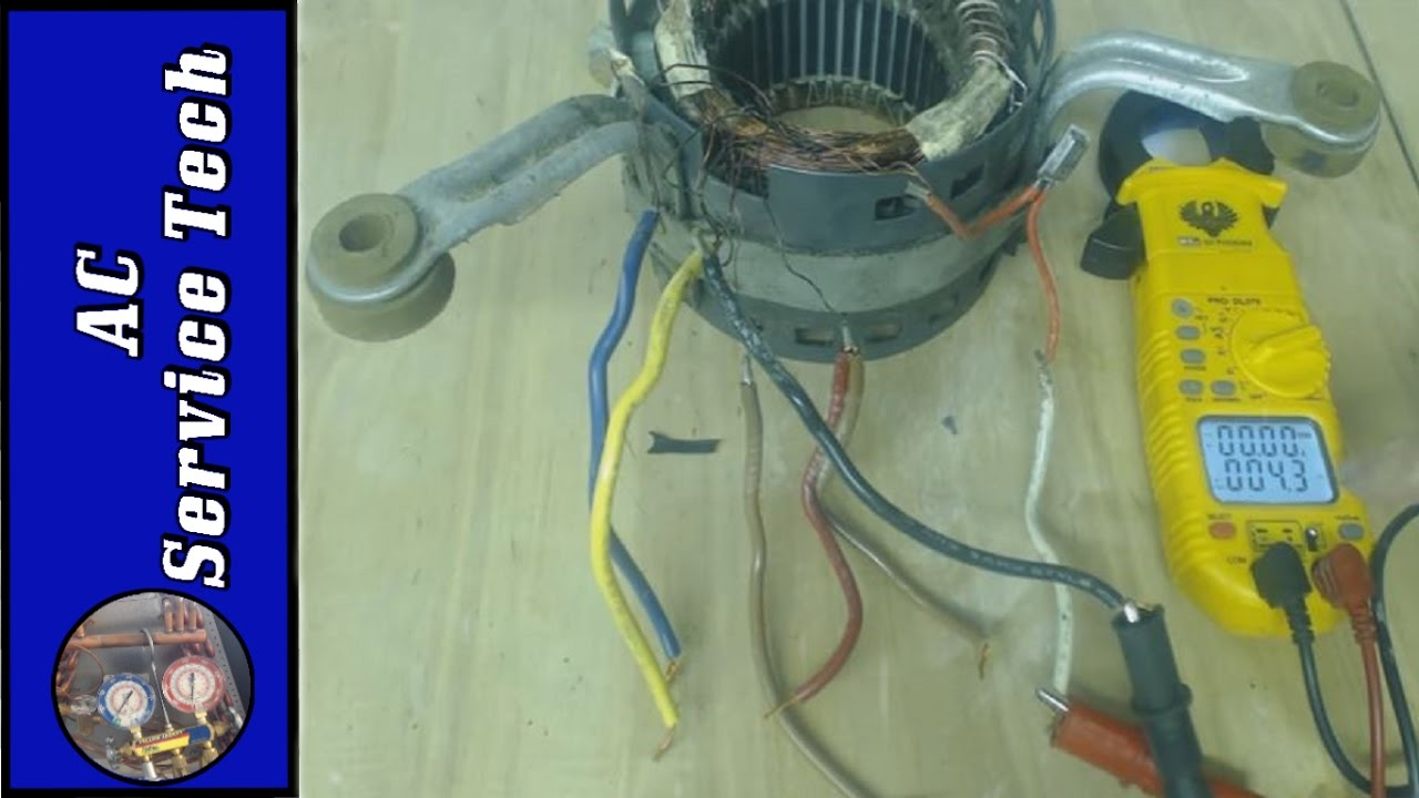 Hvac blower motor not working testing resistance values thermal hvac blower motor not working testing resistance values thermal overload to see what is bad sciox Gallery