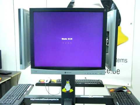 ubuntu 10.04 Lucid Lynx multiseat internet kiosk