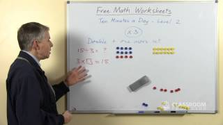 Free Math Worksheets: Multiplication And Division Revision X3