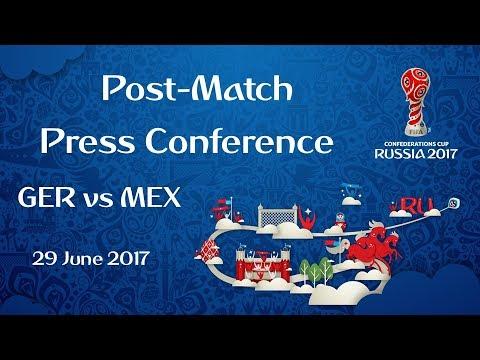 GER v. MEX  PostMatch Press Conference