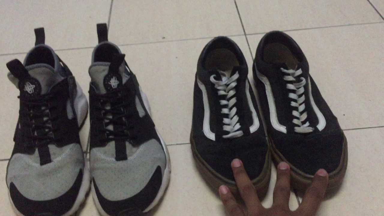921d50814c6c Comparison between Nike Air Huarache and Vans Old School (MOOC ...